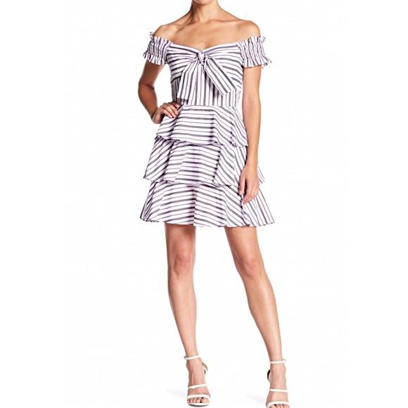 Lucy Paris Dresses & Skirts - Lucy Paris Off-the-Shoulder Gemma Dress (S)